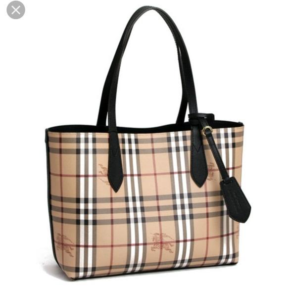 e0f0886e2c Burberry Bags | Brand New Revesible Black Tote Bag | Poshmark
